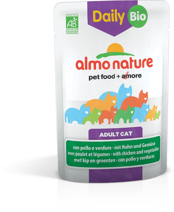 almo nature bio organic for adult cat
