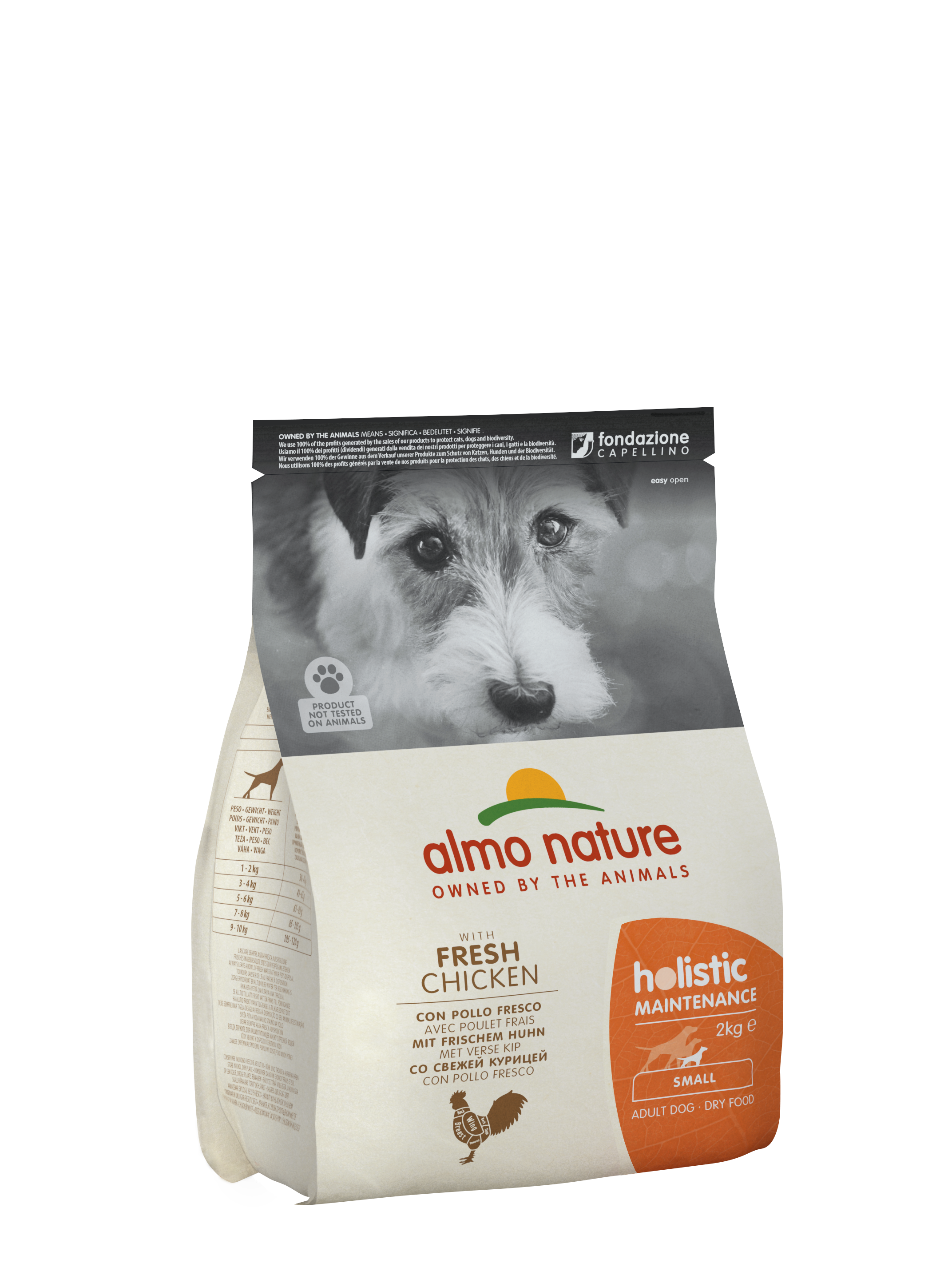 almo nature holistic dog dry