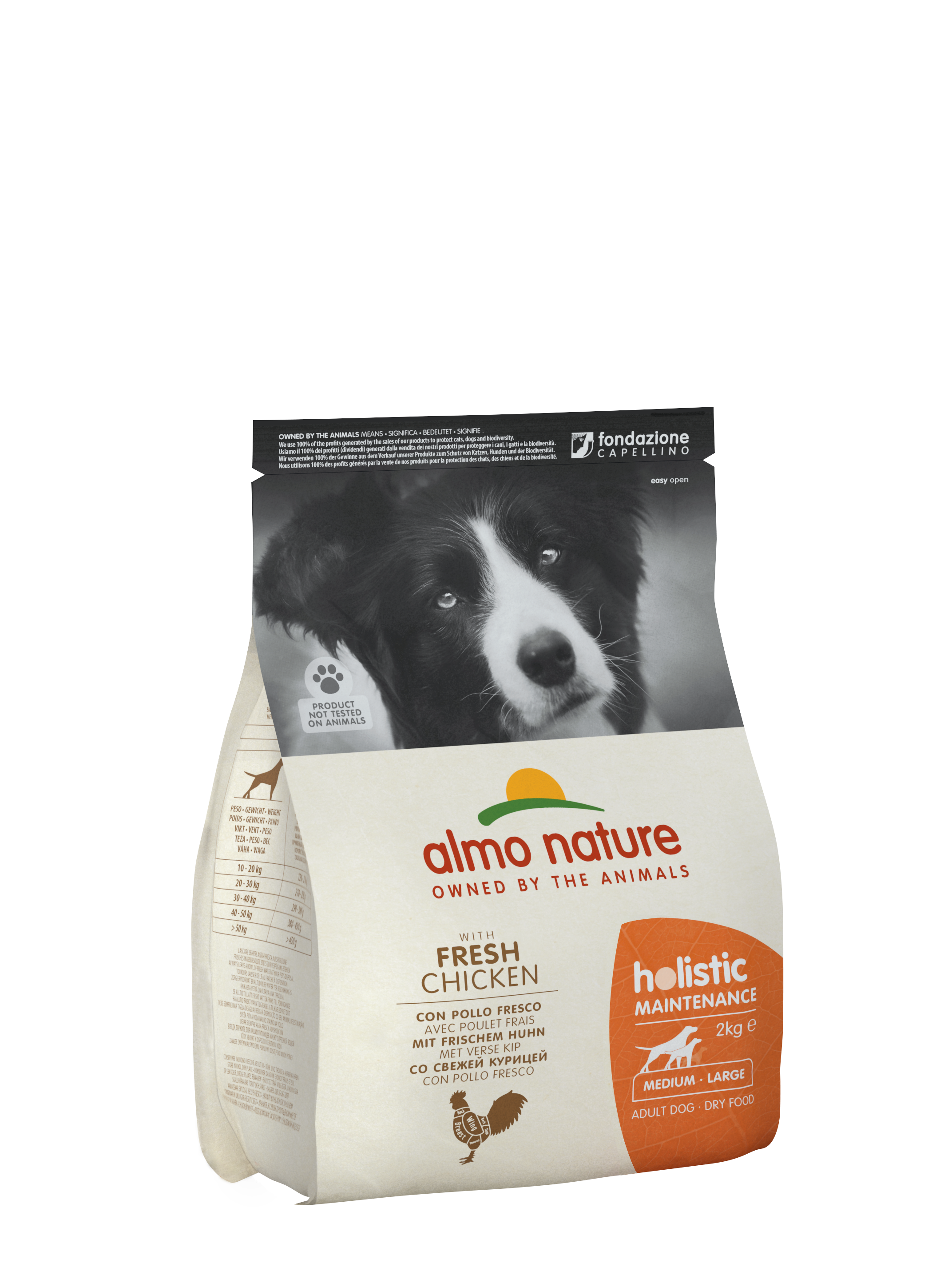 almo nature holistic dog kibble
