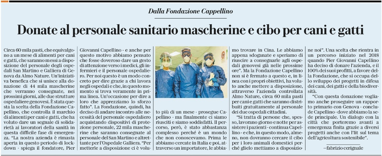 Article - La Repubblica